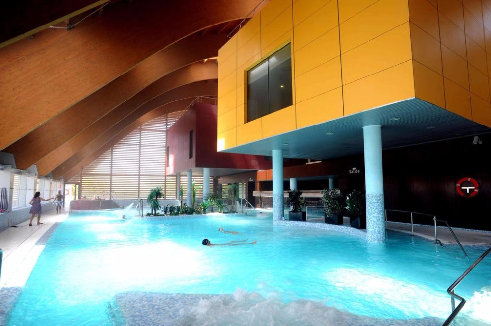 SPA Zóna hotelu Thalasia Costa de Murcia, Mar Menor, Murcia.
