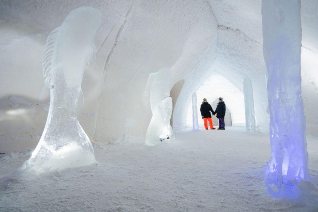 Corridor at SnowHotel
