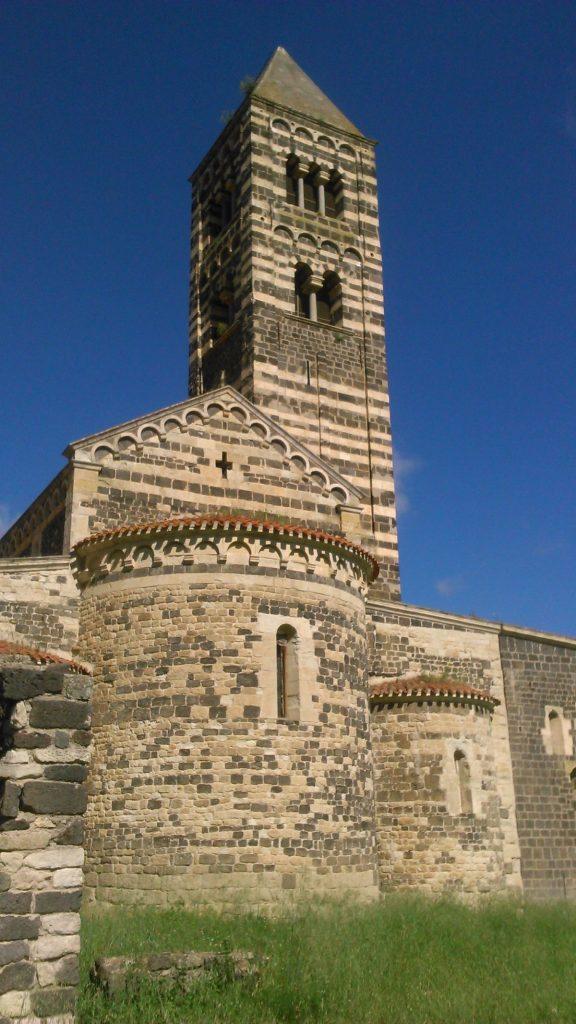 Kostel Santissima Trinita di Saccargia na Sardinii