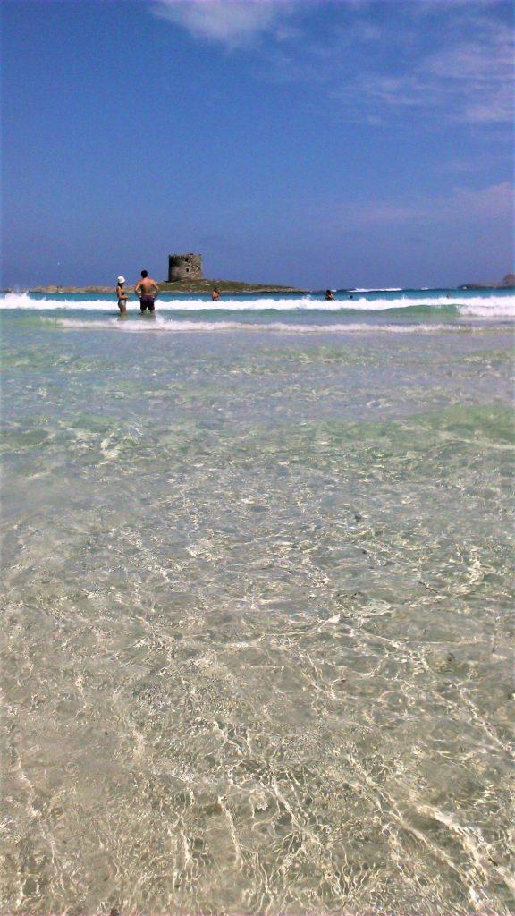 Úchvatná pláž La Pelosa - Stintino - severní Sardinie