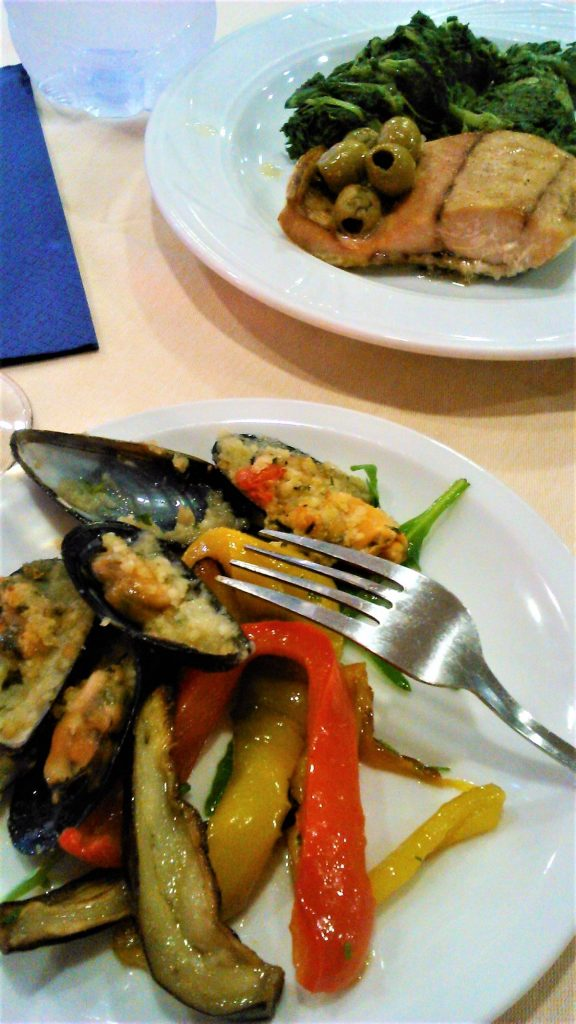 Lahodná kuchyně hotelu Baia delle Mimose