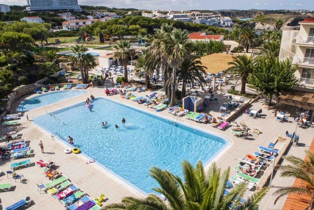 Hotelový bazén, CLUB HOTEL AQUAMARINA 3*, Menocra, Španělsko.