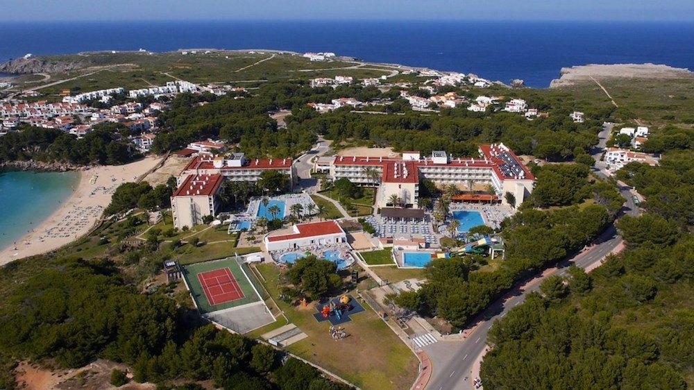 Pohled na celý komplex hotelu, CLUB HOTEL AQUAMARINA 3*, Menocra, Španělsko.