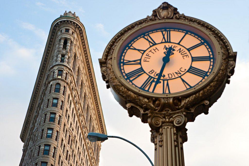 Flatiron Building - jedna z nepřehlédnutelných ikon New Yorku.