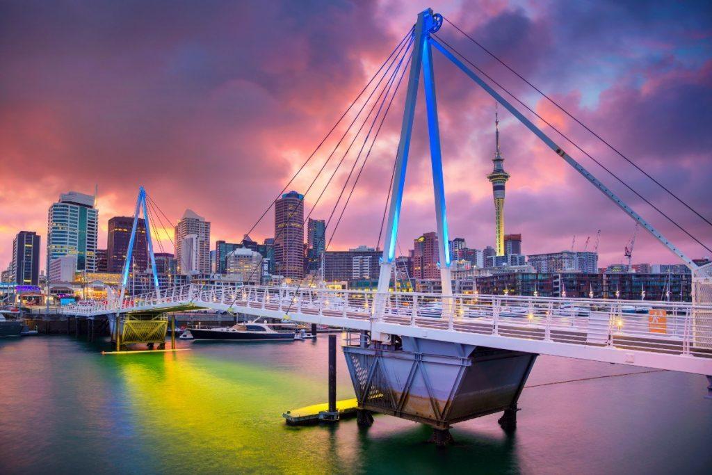 Auckland je největším městem Nového Zélandu.