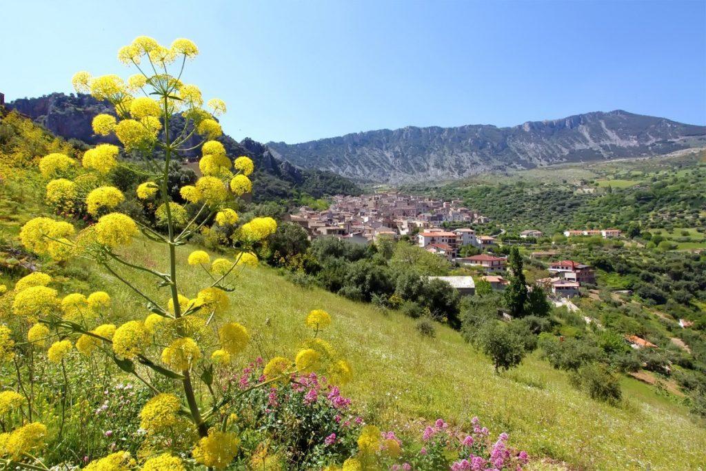 Pohled na starobylé město Civita.