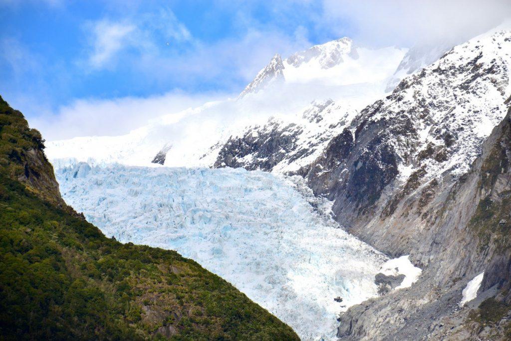 Ledovec Fox patří k těm nejdostupnějším na Novém Zélandu.