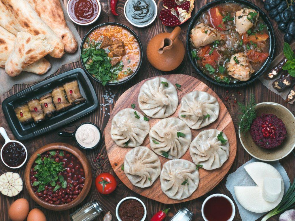 Tradiční gruzínská kuchyně