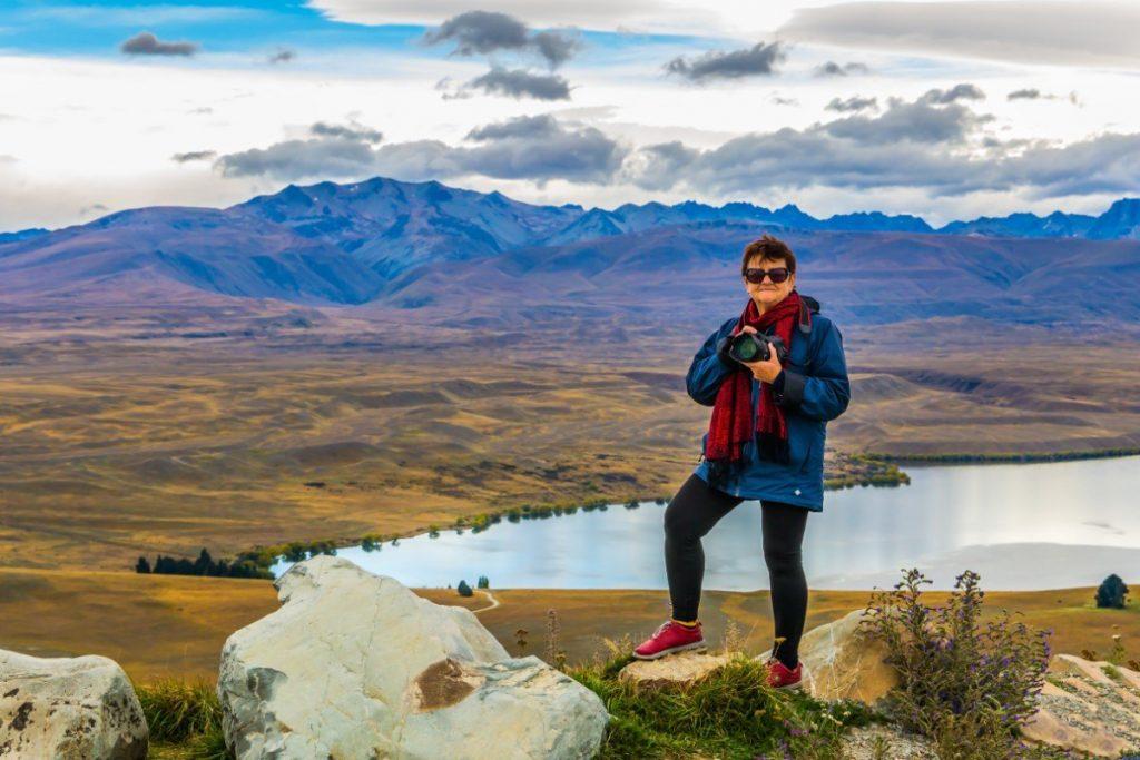 Příroda Nového Zélandu je úžasně fotogenická.