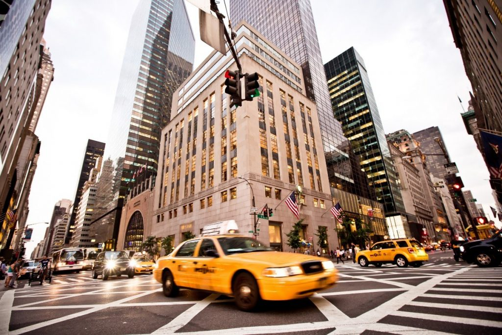 Na 5. Avenue najdete ty nejluxusnější obchody v New Yorku.