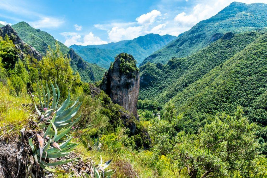 Kalábrijská příroda hraje všemi odstíny zelené.
