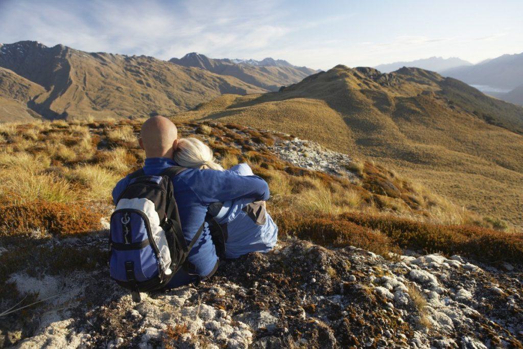 Nový Zéland patří k nejlepším místům pro pěší turistiku na světě.