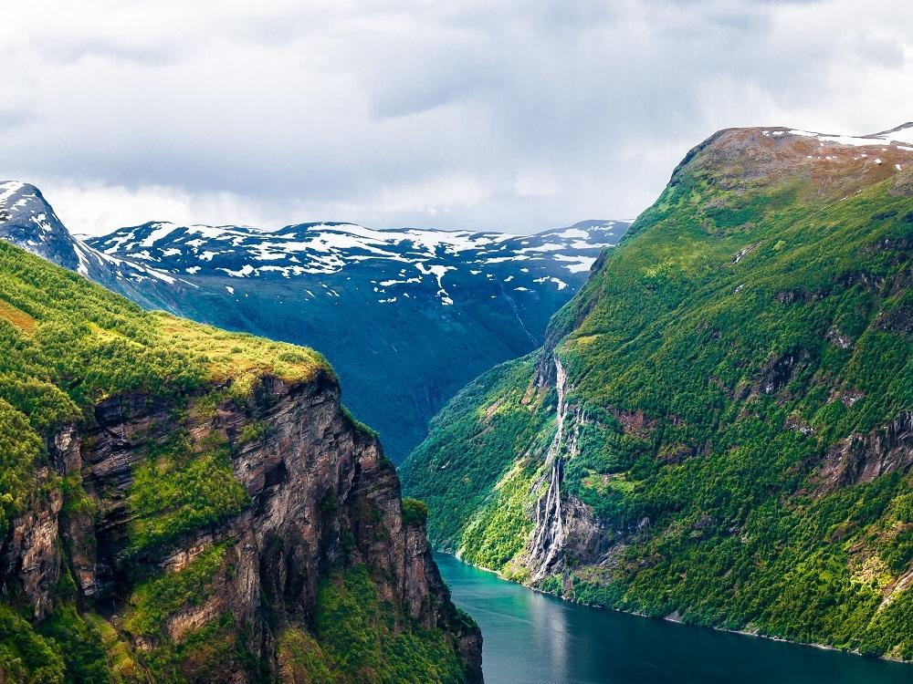 Velká cesta zemí fjordů, Norsko pro seniory - foto 40