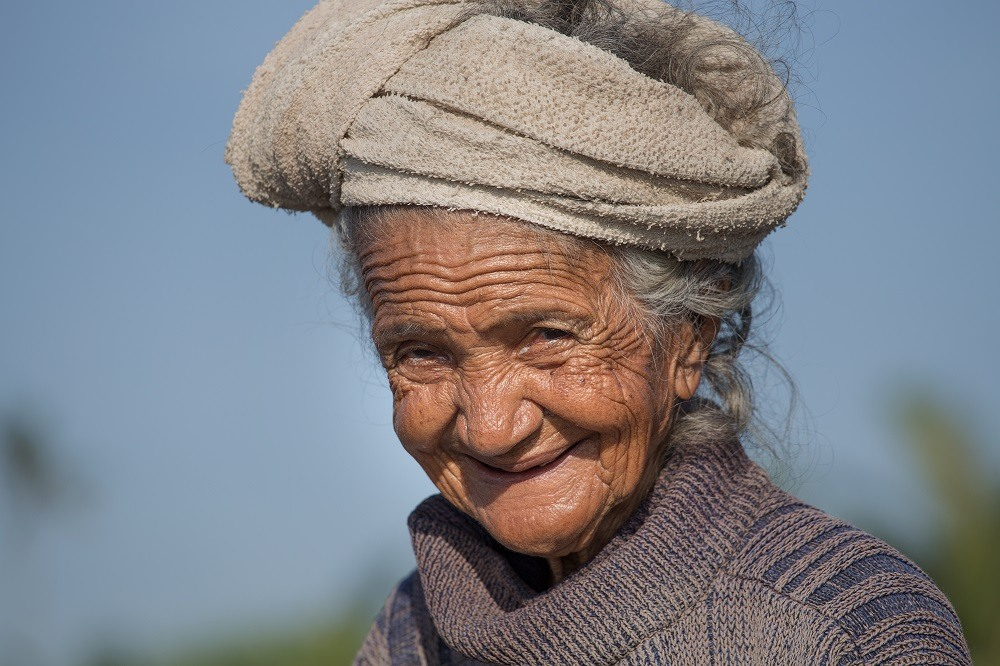 shutterstock_262572440 Inhabitants of Bali are kind and friendly even in old age