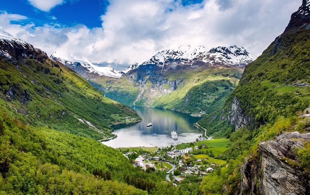 Velká cesta zemí fjordů, Norsko - foto 54