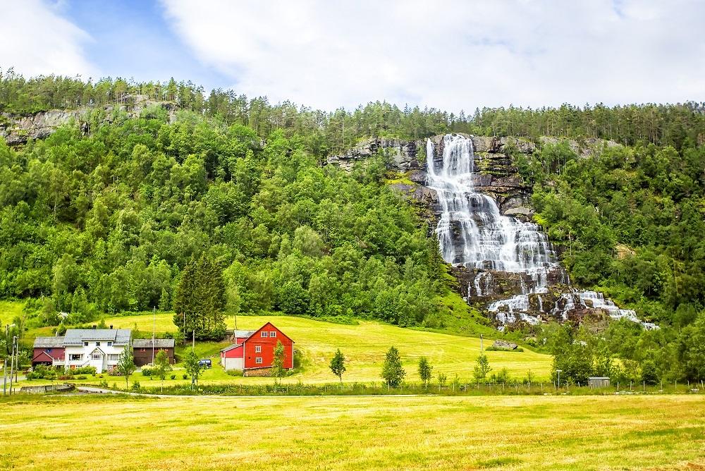 Velká cesta zemí fjordů, Norsko - foto 58