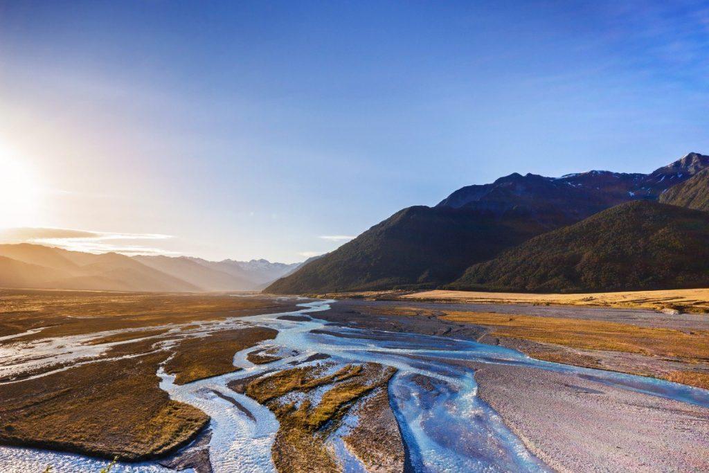 Národní park Arthur´s Pass je znám svou nespoutanou a neponičenou přírodou.
