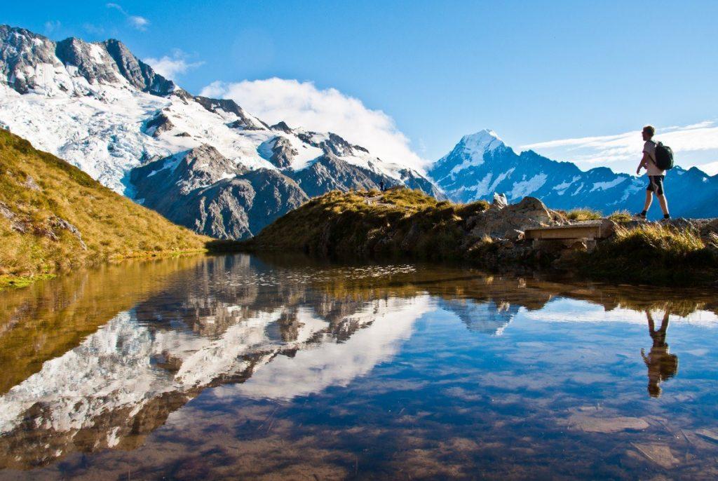 Turistika v národním parku Mt. Cook je doslova balzámem na duši.