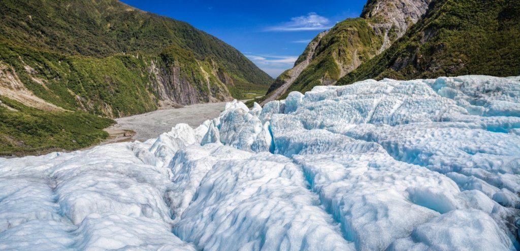 Ledovec Fox pojmenoval roku 1872 sir William Fox, který byl tehdejším ministerským předsedou Nového Zélandu.