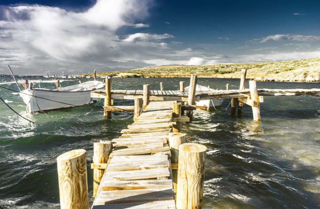 Klid před bouří na Menorce.