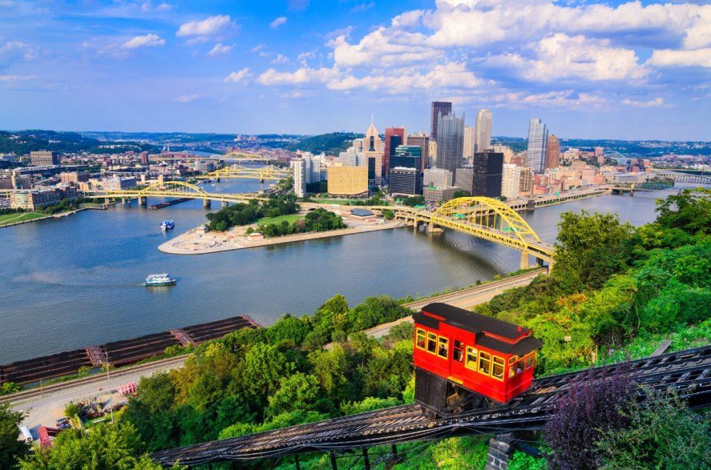 Lanovka slouží obyvatelům Pittsburghu již 140 let.