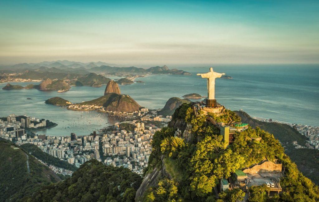 Neopakovatelný a nezapomenutelný pohled na Rio - přezdívané Zázračné město.