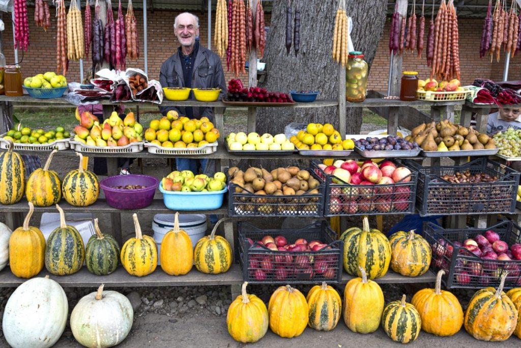 Místní tržnice v Batumi