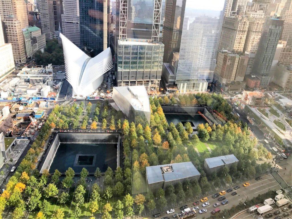 Památník 11.září - 9/11 Memorial.