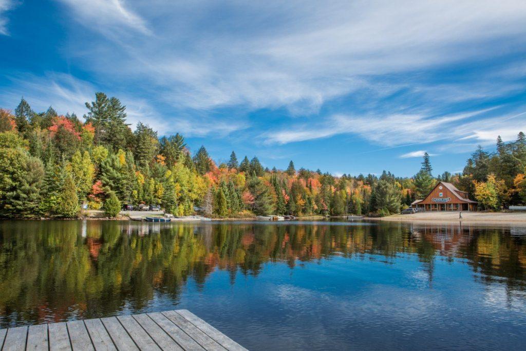 V národním parku Algonquin se můžete těšit na krásnou a nedotčenou přírodu.