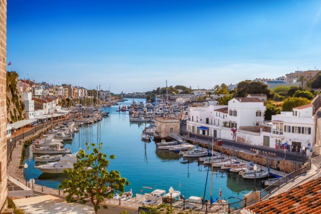 Histrické město Ciutadella bývalo kdysi hlavním městem Menorcy.