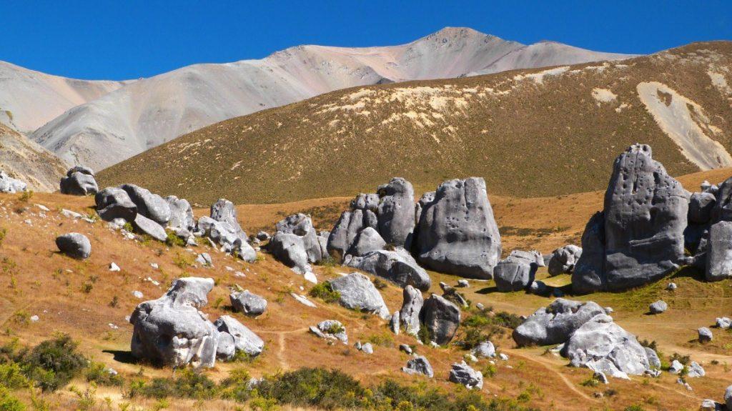 Oblast vápencových skal Castle Hill se stala kulisou pro několik známých filmů.