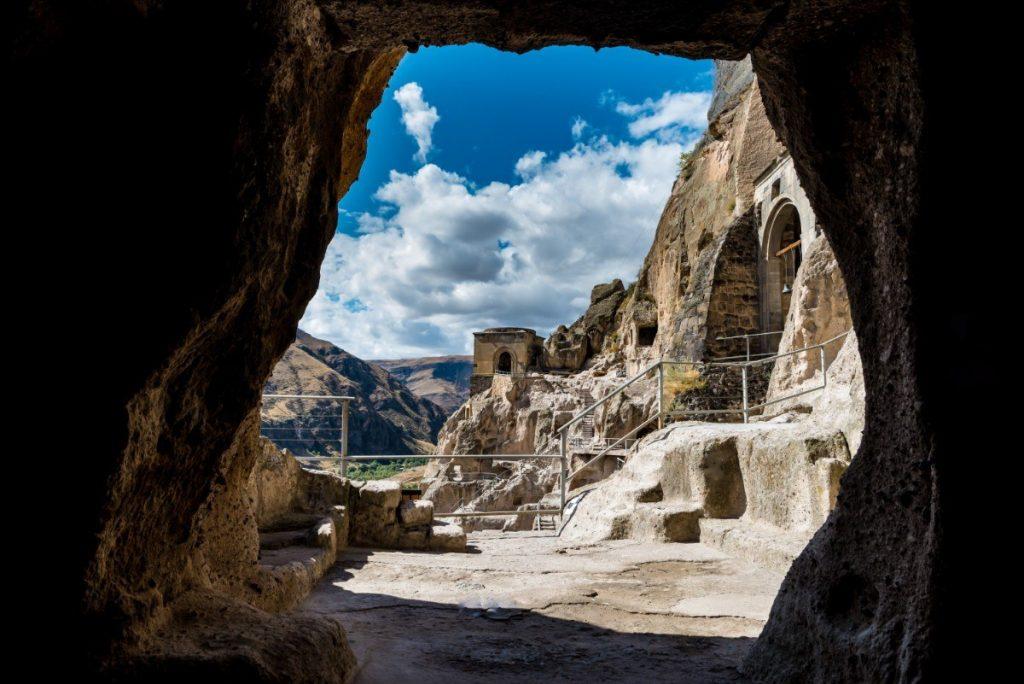 Jeskynní klášterní město Vardzia