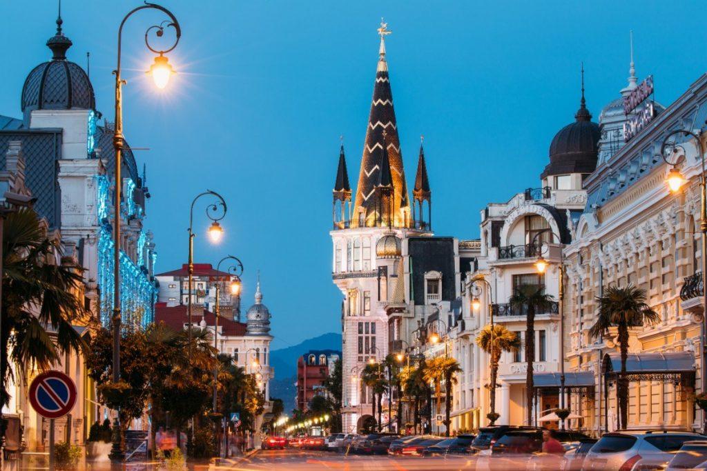 Noční Batumi